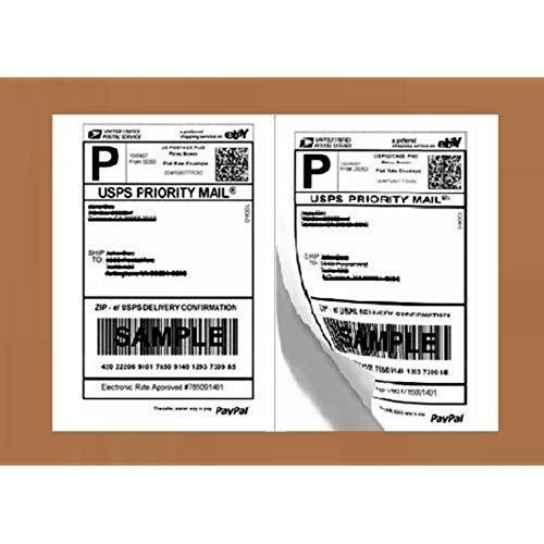 Printed Print Shipping Labels, Paper Combines | ID: 19950163333