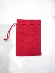 Dyed Jute Pouch