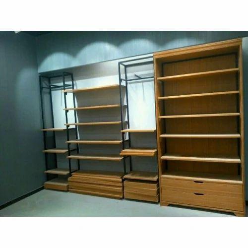 Wooden Office Storage Racks