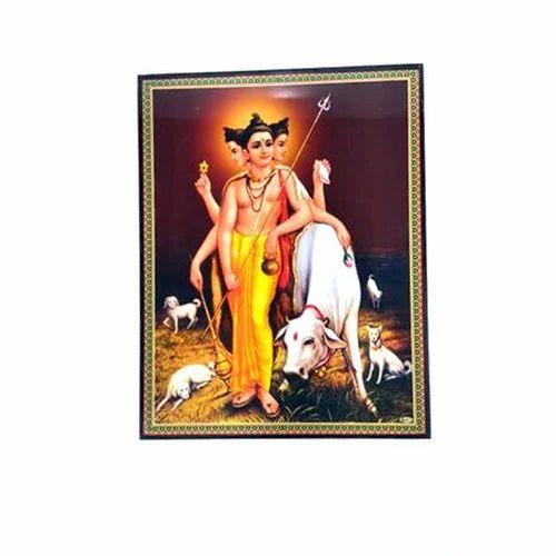 Sherawali Mata Laminated Photo, Laminating Picture Frame - RK ...