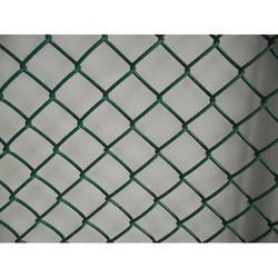 PVC Coated MS Chain Link Mesh Fence