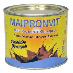 Chocolate Protein Powder, Packaging Type: Steel Jar