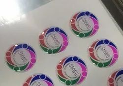 Multicolor Epoxy Dome Stickers, Packaging Type: Packet, Size: Custom