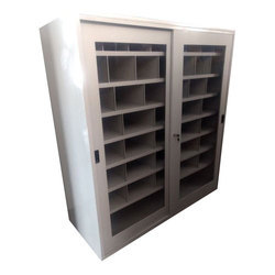 Sliding Door Book Cabinet