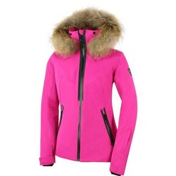 Full Sleeve Pink Ladies Hooded Cotton Jacket, Size: M-3XL