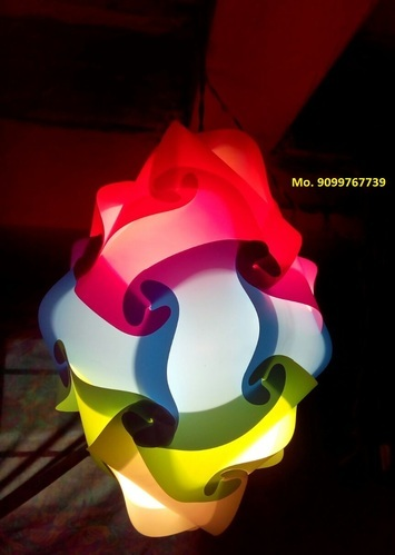 Fiber plastic diwali lamp shades rainbow decorative iq puzzle fiber plastic diwali lamp shades aloadofball Images
