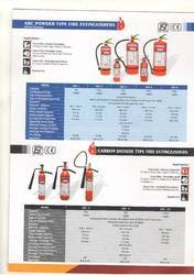 ABC Powder Type Fire Extinguisher Refilling Capacity-02kg