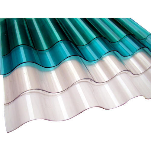 Polycarbonate Corrugated Roofing Sheet Rs 90 square feet Bajarang