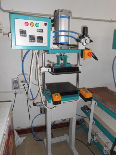 Pneumatic Chapatti Single Ball Flattening Machine