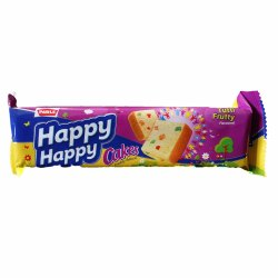 Mix Fruit Happy Happy Tutti Frutty Cake, Packaging Size: 40 G, Packaging Type: Packet