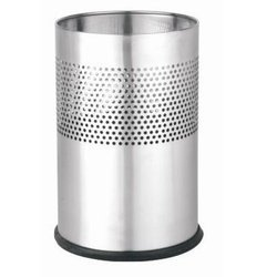 Half Round Perforated Bin