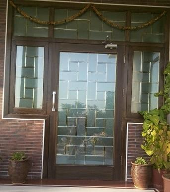 Designer Glass Door Decorative Glass For Doors And Windows