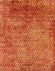 Hamadan Design Pure Silk Rug