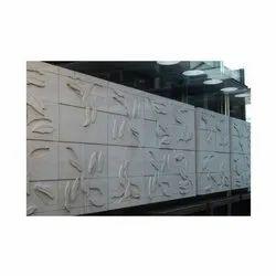 Modern GRC Wall Cladding, Thickness: 25 Mm