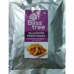 Masala Salted Millet Ribbon Pakoda, Packaging Size: 150 G