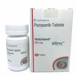 Votrient Tablets, Bottle, Prescription
