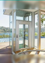 Automatic Glass Door Elevator