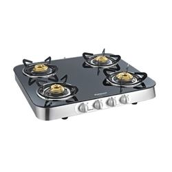 Sunflame 4B Stainlees Steel Crystal Curve Cooktop