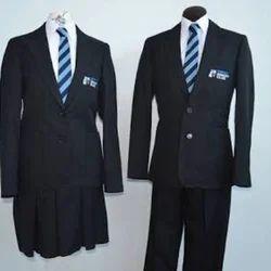 Pravarti Black Corporate Uniform