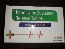 Allopathy Ranolis -500mg Er, Prescription, Treatment: Cardiac Drugs