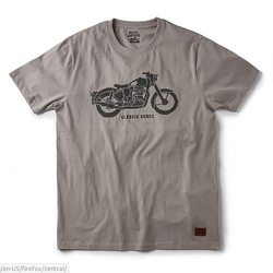 Royal Enfield Cotton -classic needlecraft t-shirt - rlatsi000055, Size: Medium and XL