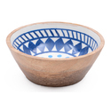 Handcrafted Serving Wooden Resing Bowl