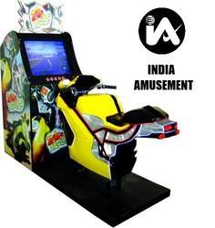 Video Bike Single Arcade Game