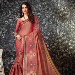 Silk Designs With Contrast Pallu Saree