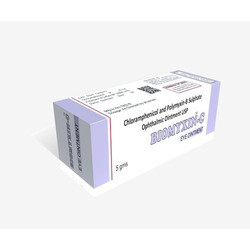 Chloramphenicol and Polymyxin-B Sulphate Eye Ointment