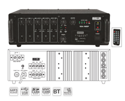 SSA-160DP PA Mixer Amplifiers With Digital Player