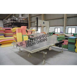 Vertical Foam Cutting Machine