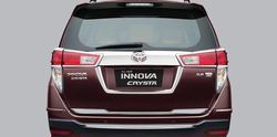 Carbon Fiber And Iron Toyota Innova Crysta Rear Guard, For Industrial