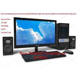 Office Desktop Computer, Screen Size: 15 Inch