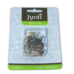 Jyoti Pear Pin - Steel - Assorted