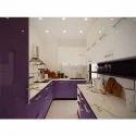 Parallel Kitchen Purple