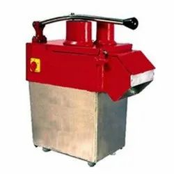 Semi Automatic Vegetable Cutting Machine, Capacity: 100kg/hr