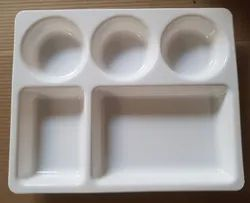 Compartment Plate 5 In 1 Microwave Safe
