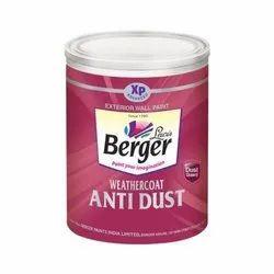 Berger Weathercoat Anti Dust Exterior Wall Paint, Packaging: Bucket