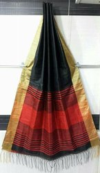 New Launching Top Dyed Slub Saree