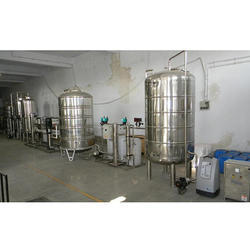 Mineral Water Packing Project