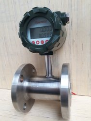 Digital Solvent Type Turbine Flow Meter