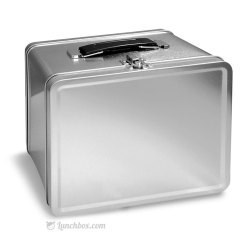 Silver Steel Lunch Box, 1 SS containers