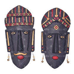 Terracotta Mask - Extra Large