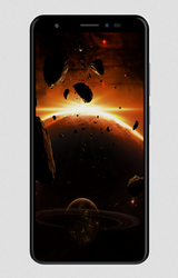 Black Lava Z91E Mobile Phone