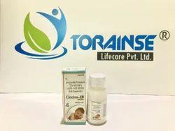 Amoxicillin 200mg Clavulanic  37.5mg Lactic Acid Bacillus