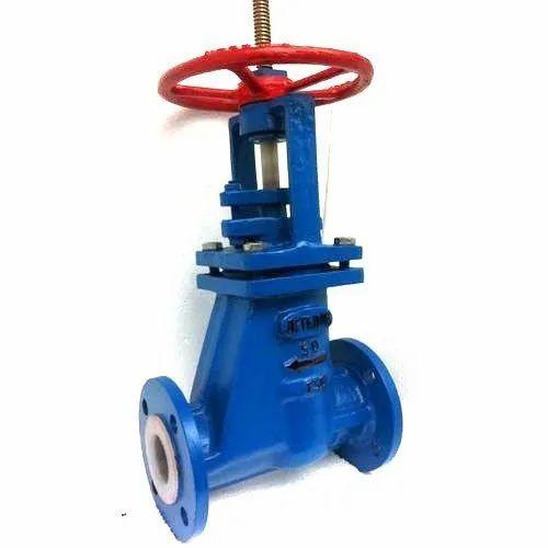 Teflon Lined Cross valve
