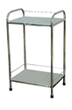 Full Stainless Steel Bed Side Table