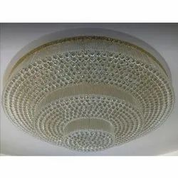 Round Crystal Ceiling Chandelier