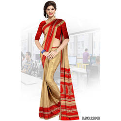 Designer Uniform Saree