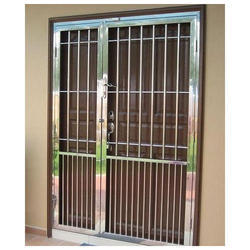 Stainless Steel Double Leaf Door